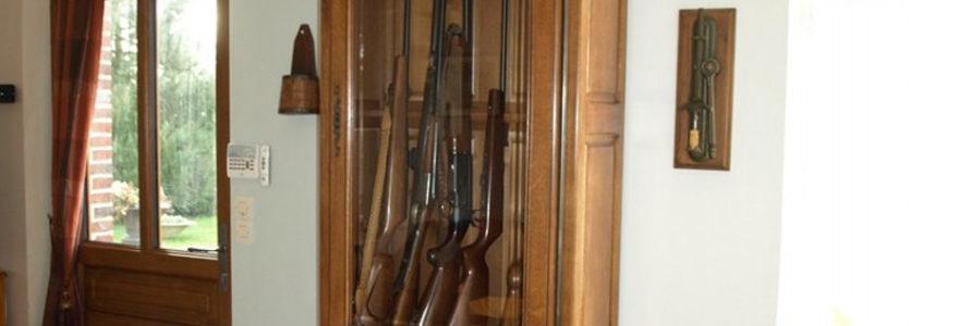 armoire à fusils