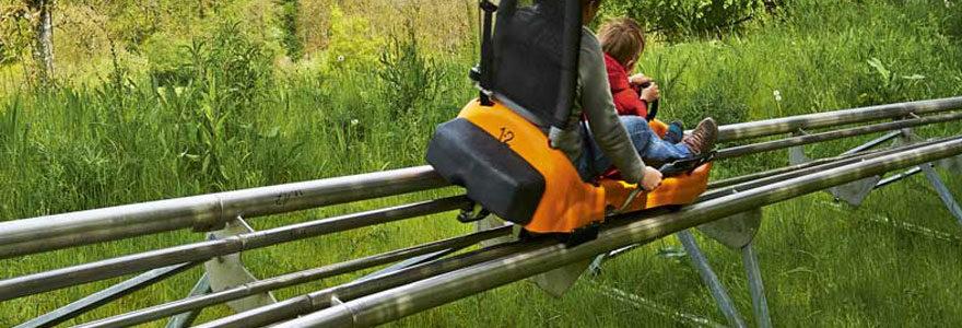 luge sur rail au viaduc de la Souleuvre